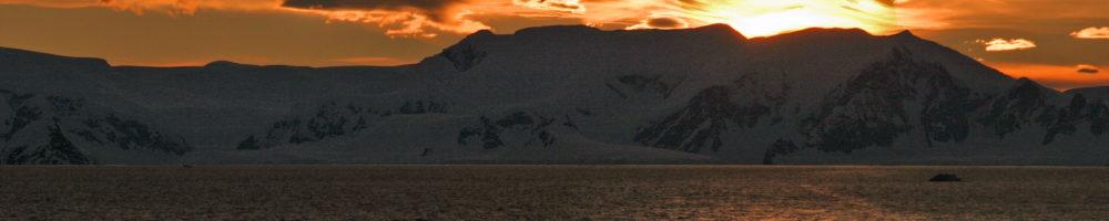 Sonnenuntergang mensch und erde